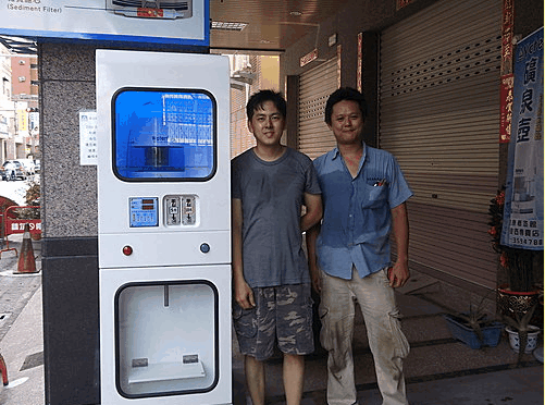 大金金單出水自動加水站加水機第3代1