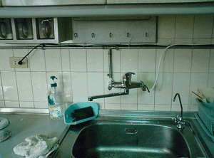 家用逆滲透廚上型安裝範例2