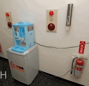 飲水機放在小冰箱上面的問題~