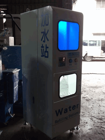 這是小弟開發的單機式加水機~目前主要為外銷用