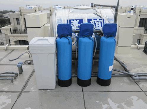 大金剛全戶式過濾器(水塔過濾器)安裝分享-台中5