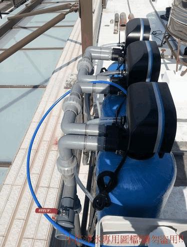 大金剛全戶式過濾器[水塔過濾器]雙拼透天安裝分享6