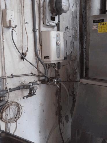 鮮果汁飲料店過濾器安裝實例1