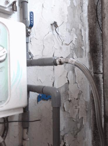 鮮果汁飲料店過濾器安裝實例2