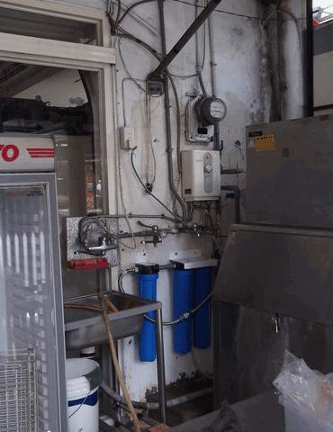 鮮果汁飲料店過濾器安裝實例4