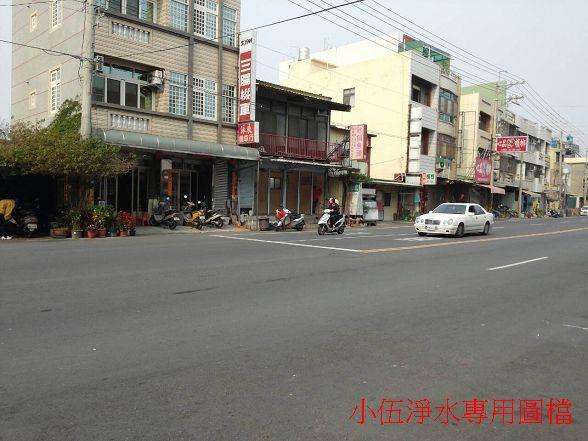 台灣加水聯盟加水站連鎖-嘉義朴子站的安裝前店面