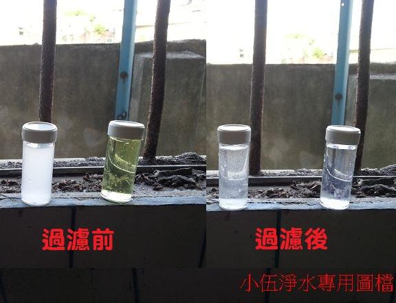 左邊是硬度~右邊是氯
