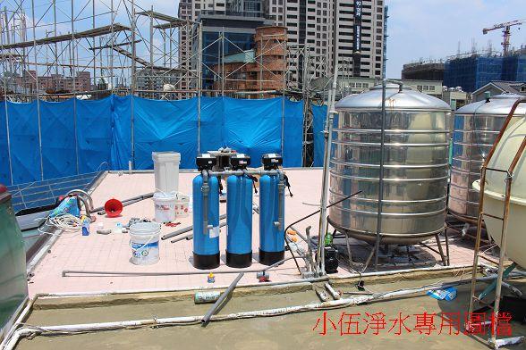 大金剛全戶式過濾器-水塔過濾器背面照