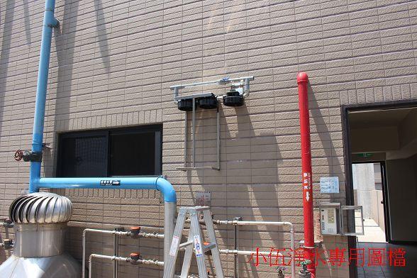 安裝位置有用壓力測試器先了解出水量才確認的~DIY的朋友要注意一下唷^^
