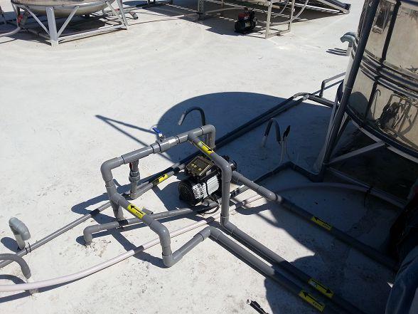 所有開關均使用不銹鋼珠球閥~這樣子就不用怕太陽曬了!