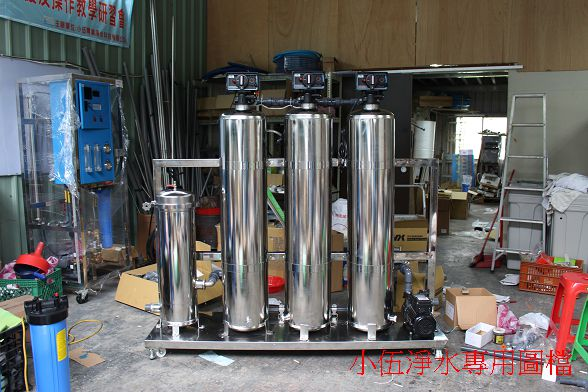 GMP化妝品生產用超純水設備建置
