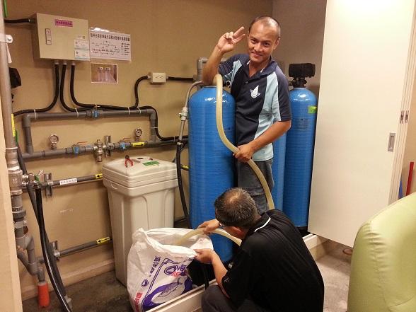 這是我們小伍淨水在台南的保養工程