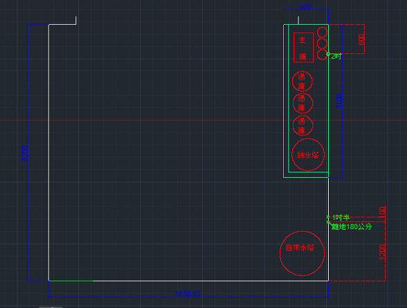 1:1畫出來讓網友了解加水站的製作流程
