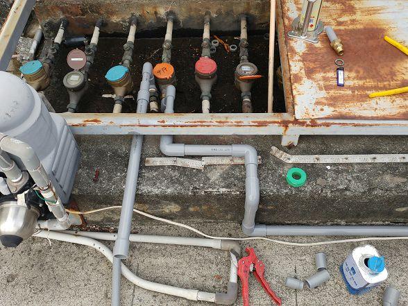 如果打到水管....基本上當天就沒辦法下班了