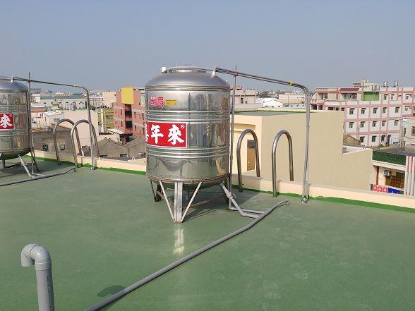 傳統的一根水管通整棟