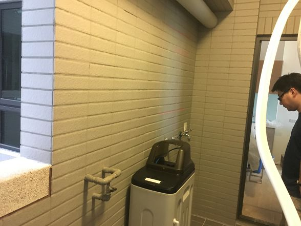 [安裝實績]大金剛全戶式過濾器-進階版-小伍淨水-台中市旱溪路 (1)