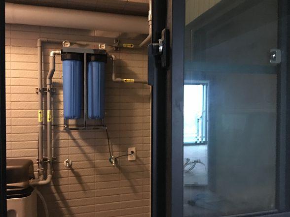 [安裝實績]大金剛全戶式過濾器-進階版-小伍淨水-台中市旱溪路 (101)