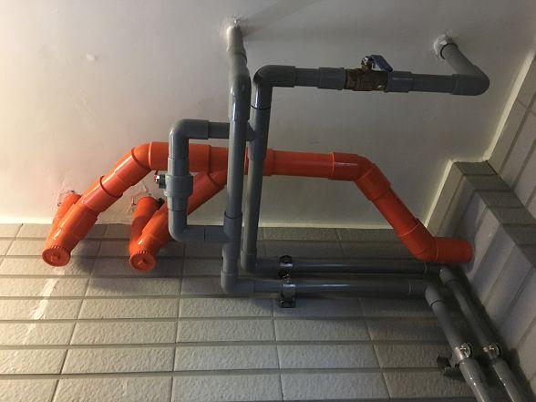 [安裝實績]大金剛全戶式過濾器-進階版-小伍淨水-台中市旱溪路 (13)