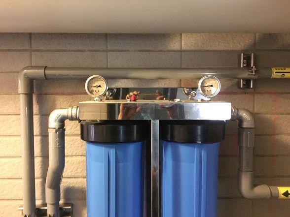 [安裝實績]大金剛全戶式過濾器-進階版-小伍淨水-台中市旱溪路 (79)